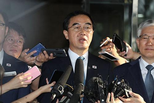 Koreas führen Gespräche auf hoher Ebene zur Diskussion über Spitzentreffen