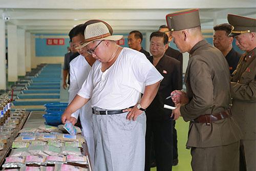 """북한 김정은, 목장·어업사업소 시찰…""""낙후된 실태 그대로 평가"""""""