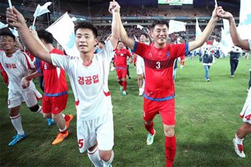 북한 매체, 남북 노동자 축구대회 개최 사실 보도