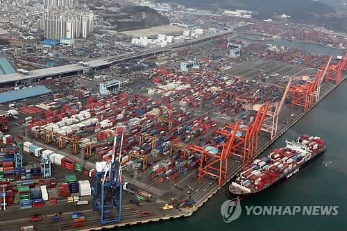 S. Korea's Exports Post Double Digit Growth in First Ten Days of Aug.