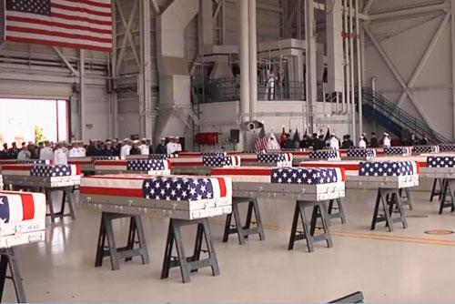 EEUU cree que los restos repatriados en efecto son de sus soldados