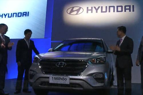 Les constructeurs sud-coréens présents au Brésil vendent un million de véhicules