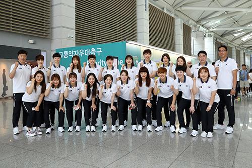 Team-Korea bricht zu Asienspielen nach Jakarta auf