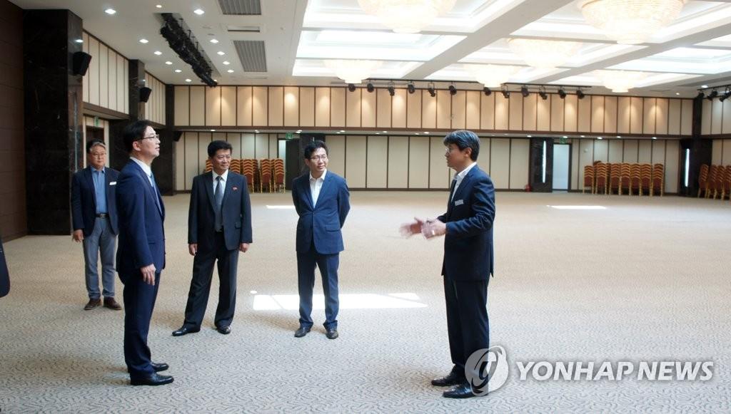 Un grupo de avanzada viajó a Corea del Norte de cara a la celebración de reuniones familiares
