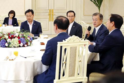 Tổng thống và Đại diện các đảng nhất trí khởi động cơ chế thảo luận thường trực