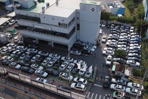 Laut Vermutung des Transportministeriums nicht mehr als 10.000 BMW von Fahrverbot betroffen