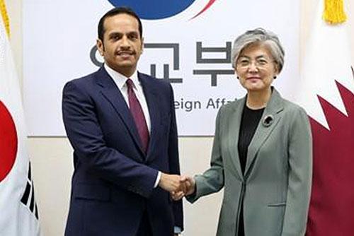 Главы МИД РК и Катара обсудили вопросы сотрудничества двух стран