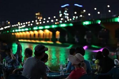 Ночная температура воздуха в Сеуле снизилась до +22,1° С