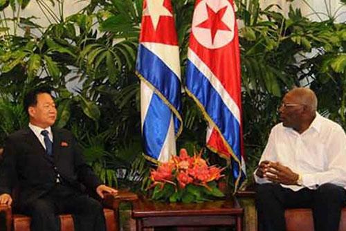 최룡해, 쿠바 방문…북한-쿠바 관계 증진 논의