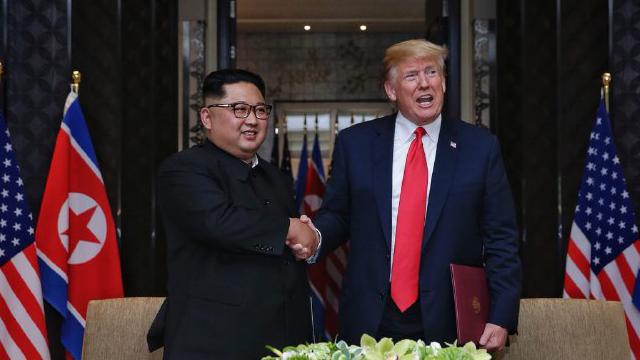 Le Rodong Sinmun qualifie de « politique » la déclaration de fin de la guerre de Corée