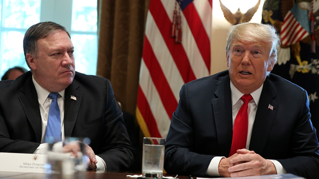 Госдепартамент США: Санкции останутся до тех пор, пока Пхеньян не проведёт денуклеаризацию