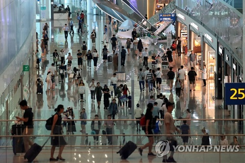 Se registra record histórico de usuarios del aeropuerto internacional de Incheon