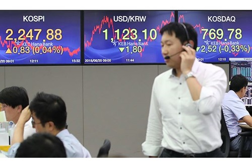 La Bourse de Séoul ouvre la semaine sur une petite hausse