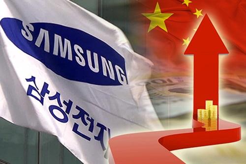 مبيعات سامسونغ في الصين تتفوف على نظيرتها في الولايات المتحدة