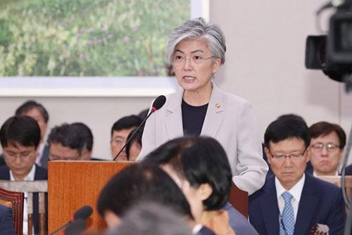 وزيرة الخارجية: من الممكن مناقشة إنشاء مكتب اتصال بين بيونغ يانغ وواشنطن خلال زيارة بومبيو