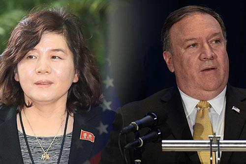 """일본 언론 """"북한 최선희, 폼페이오에 9·9절 이전 방북 요청"""""""