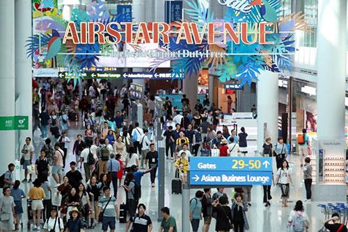 Пассажиропоток аэропорта Инчхон достиг рекордной отметки