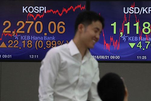 Börse in Seoul rückt vor