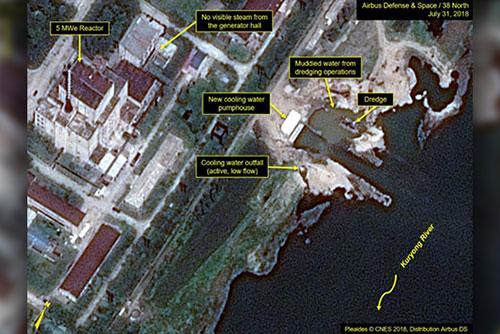 """요미우리 """"IAEA 보고서에 '북한, 핵시설 일부 가동'"""""""