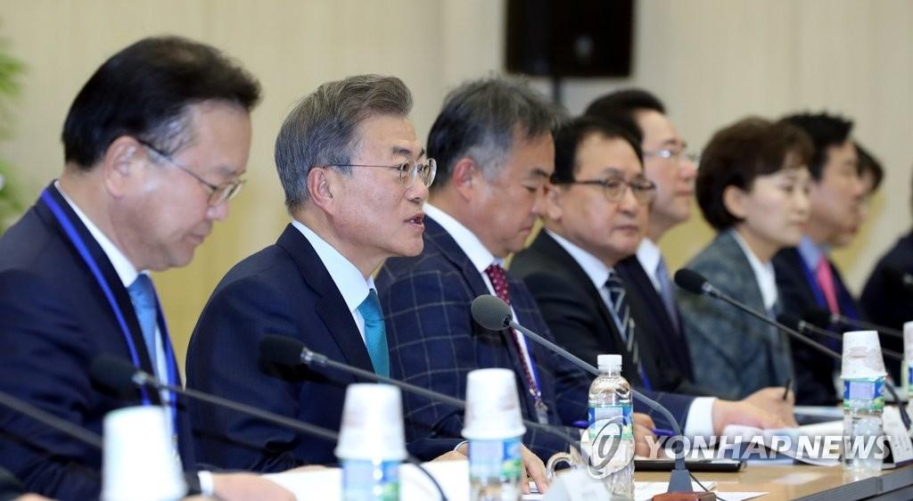 Moon Jae-in demande à son équipe de prendre des mesures ciblées pour relancer l'emploi
