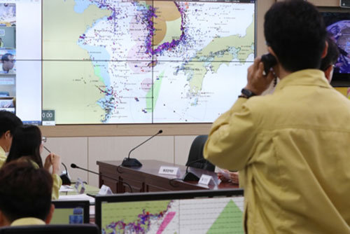 Una persona desaparece en Jeju debido al tifón Soulik