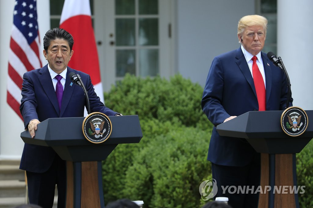 White House: Trump, Abe Pledge to Maintain Strong Sanctions Against N. Korea
