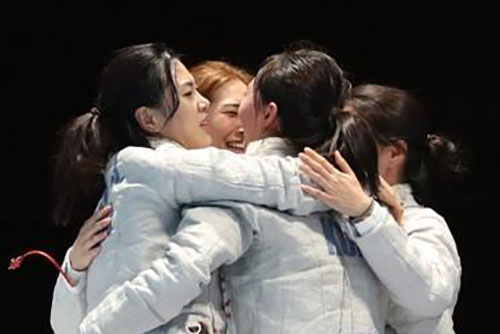 [Asian Games] S. Korea Adds 3 Golds in Fencing, Wrestling, Cycling Wednesday
