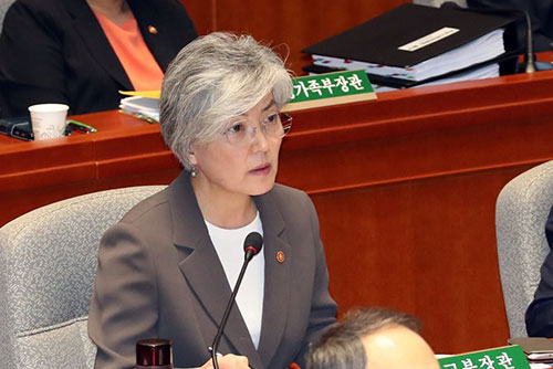 Außenminisetrin Kang schlägt ihrem nordkoreanischen Amtskollegen Treffen vor