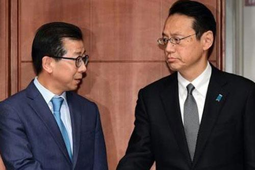 韓日外交部局長級協議 焦点は強制徴用判決への対応策