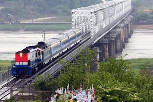 S. Korea Earmarks 700 Mln Won for Railway Project's Launching Ceremony
