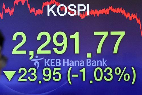 Südkoreas Börse verbucht am Mittwoch Verluste