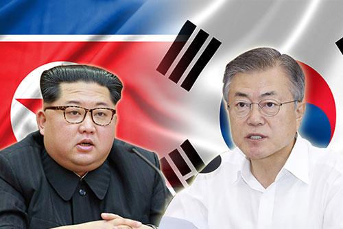 """""""Frieden, eine neue Zukunft"""" Slogan für den kommenden Korea-Gipfel"""