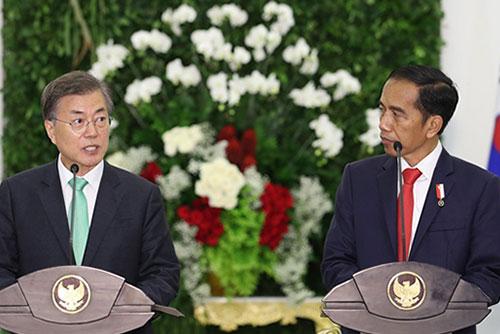 Moon Says He Seeks 'Irreversible' Progress in Denuclearization