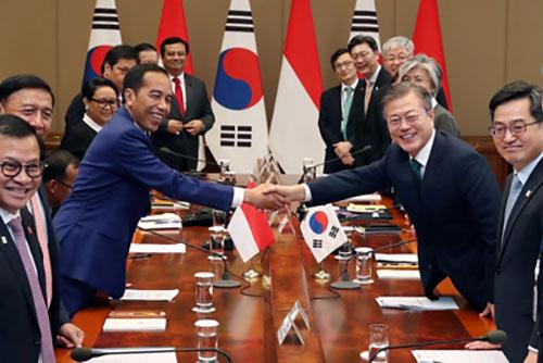 Präsident Moon betont enge Partnerschaft zwischen Südkorea und Indonesien