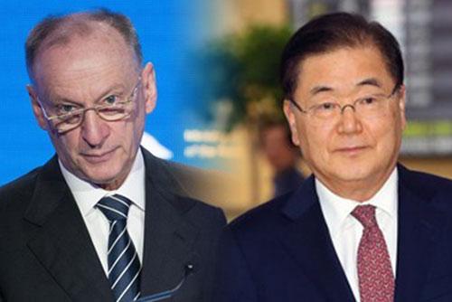 郑义溶与俄罗斯联邦安全会议秘书通话 介绍访北结果