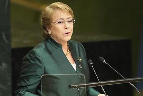Bachelet insiste en la reconciliación de la península coreana
