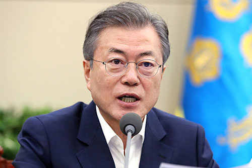 Moon Jae-in exhorte le monde politique à s'unir derrière la cause nationale
