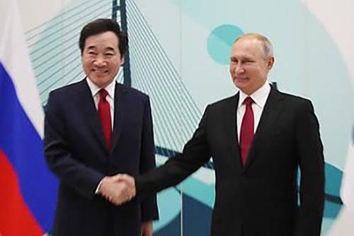 Putin Calls S. Korea Important Partner