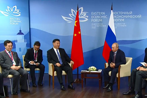 China y Rusia exhiben su cercanía