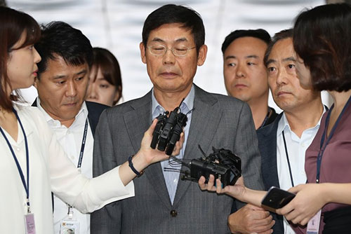 '노조와해 혐의' 이상훈 삼성전자 이사회 의장 구속영장 기각