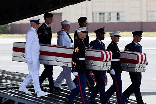 Identifican los restos de dos soldados estadounidenses repatriados por Pyongyang