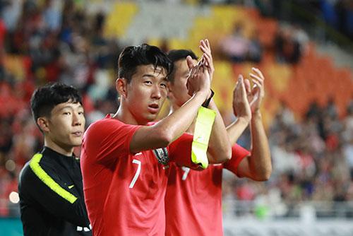 Pertandingan Sepak Bola Persahabatan Korea Selatan 0 - 0 Chile