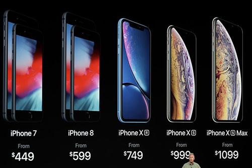애플, 신형 아이폰 XS·XS맥스·XR 공개...가을 스마트폰 대전