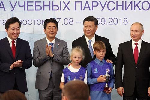Putin, Xi Jinping und Abe äußern Unterstützung für Dialog über Koreafrage