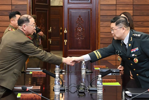 Two Koreas Hold Working-level Military Talks