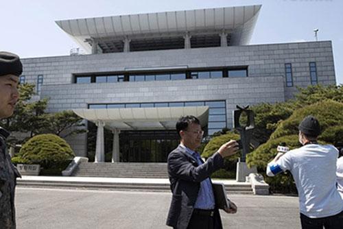 Koreas kommen zu Arbeitsgespräch für Gipfel zusammen