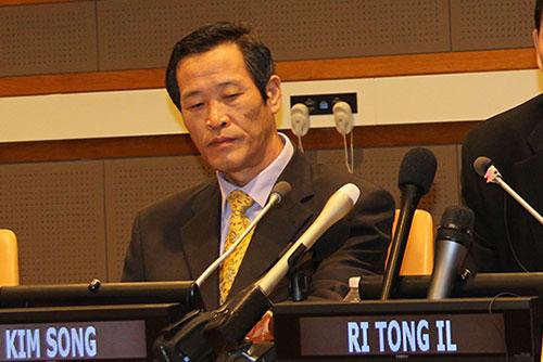 Pyongyang confirme la nomination de son nouvel ambassadeur à l'Onu Kim Song