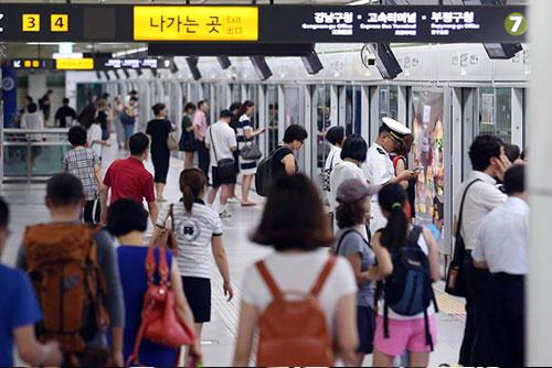 Le maire de Séoul veut faire entrer l'art dans les stations de métro