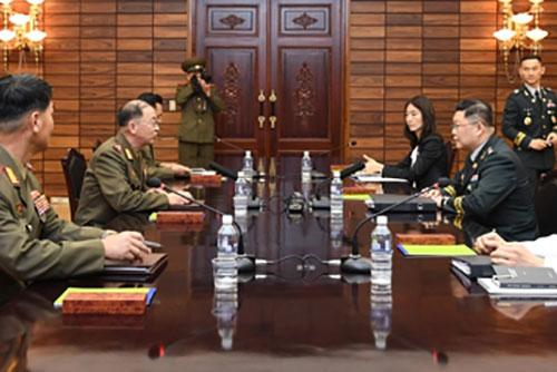 Военные представители Юга и Севера провели переговоры на рабочем уровне