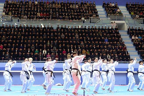 Taekwondistas surcoreanos realizarán nuevas demostraciones en Pyongyang